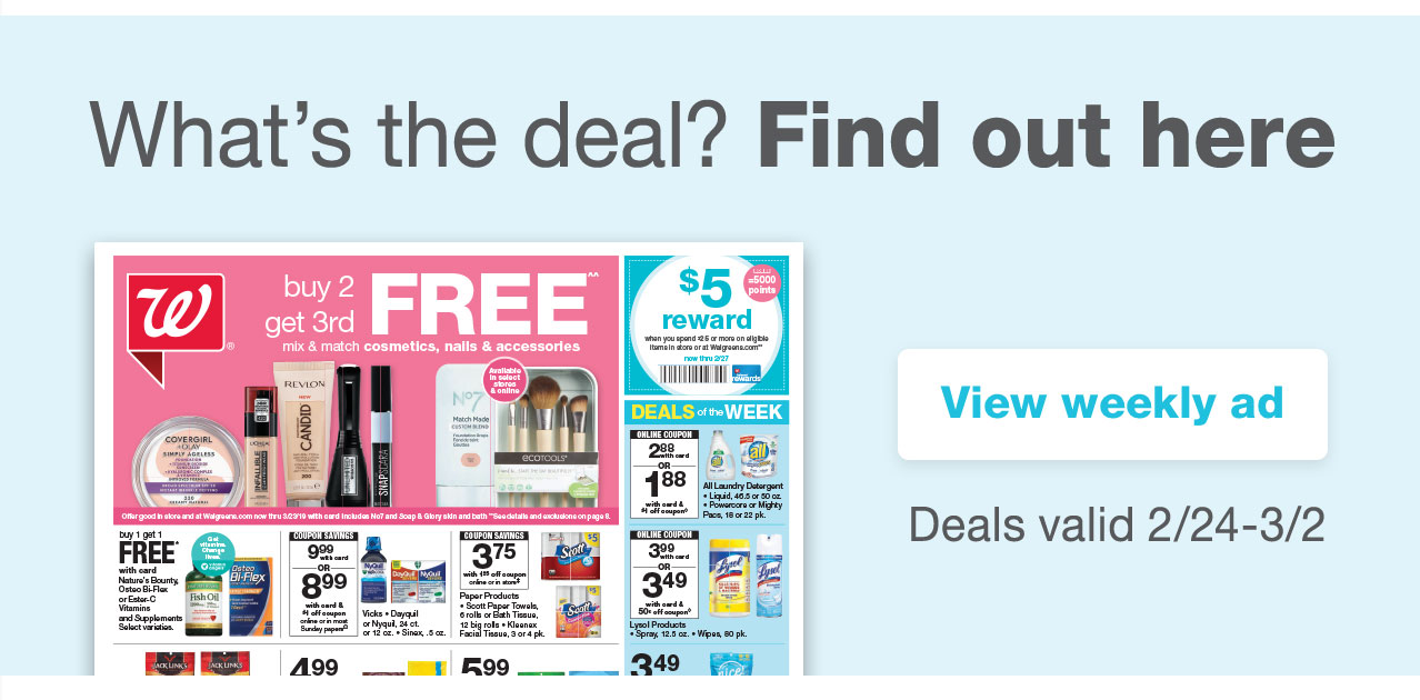 What's the deal? Find out here. View weekly ad