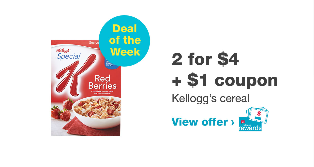 2 for $4 + $1 coupon
