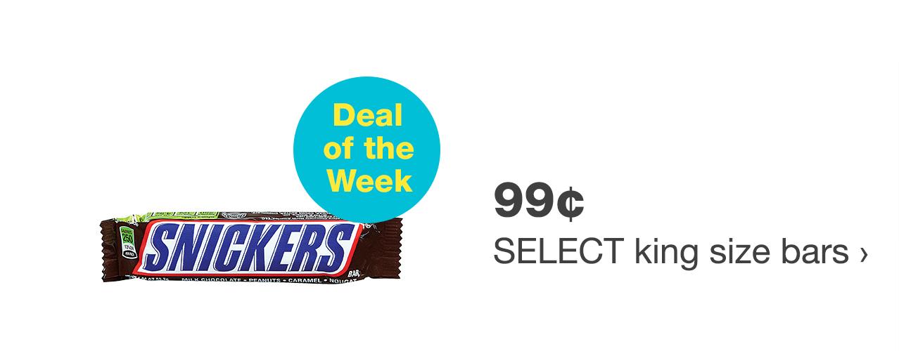 99¢ select king size bars