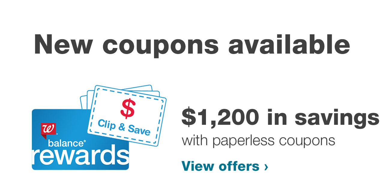COUPONS SUGGESTED FOR YOU. Clip recommended deals straight to your card.