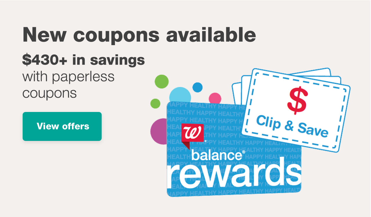 New coupons available. View offers
