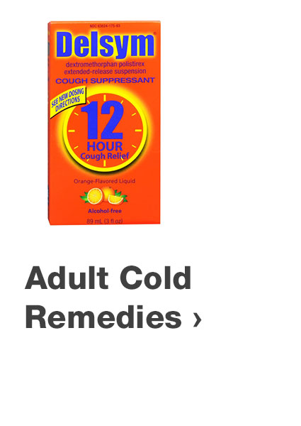 Adult cold remedies