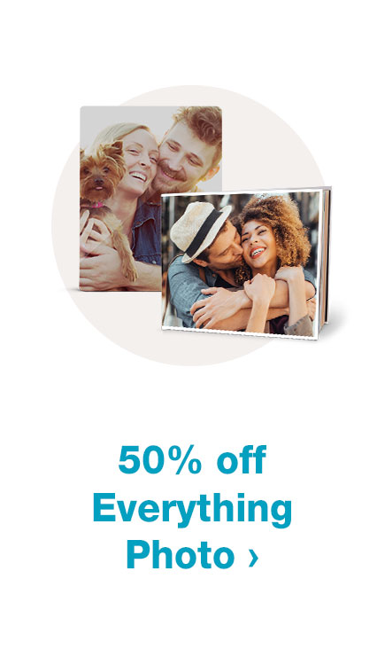 50% off Everything Photo