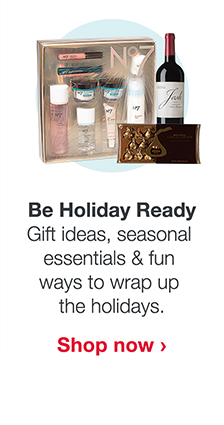 Be Holiday Ready. Gift ideas, seasonal essentials & fun ways to wrap up the holidays. Shop now