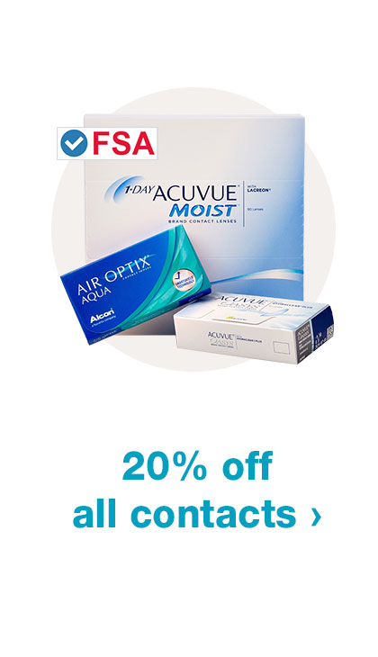 20% off all contacts