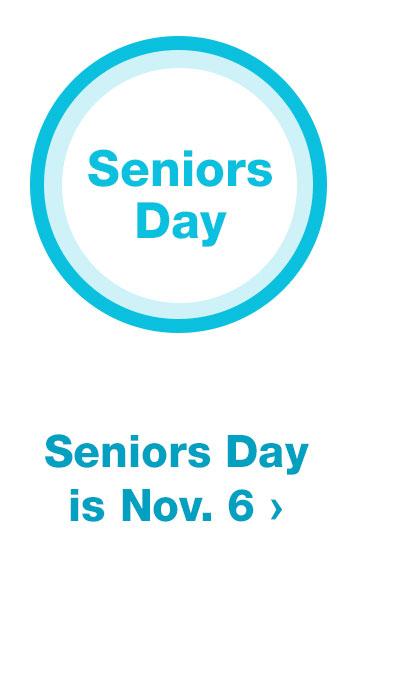 Senior Day is Nov. 6