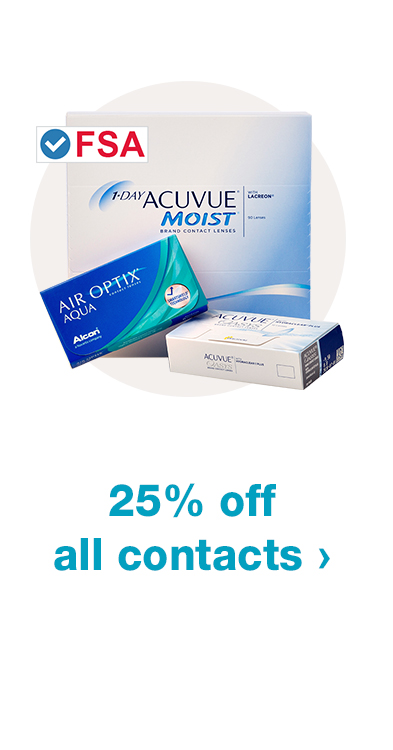 25% off all contacts
