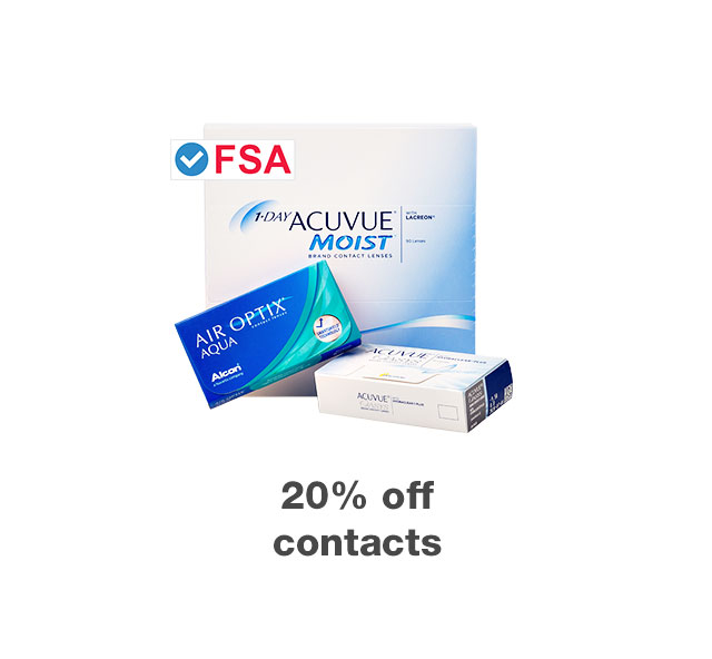 20% off contacts